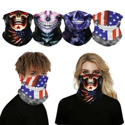 2PCS Cooling Thin Face Mask Sun Shield Neck Gaiter Balaclava