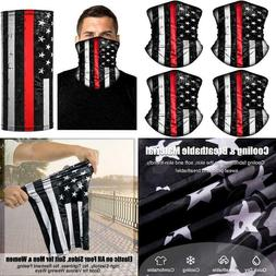 4 Pack American US Flag Face Bandana Balaclava for Men Women