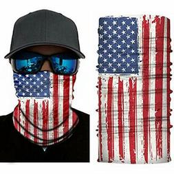4Pack Salt Armour SA AMERICAN FLAG Face Shield Sun Mask Bala