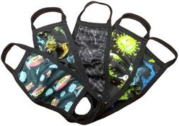 Sookie Boys Washable Reusable Protective Face Mask /w Pouch