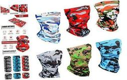 6 Pieces Sun UV Protection Face Mask Cooling Neck Gaiter Bal
