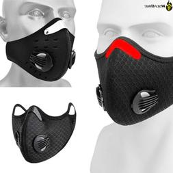 Activated Carbon Face Cover with filter Balaclava Bandana fo