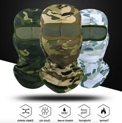 Balaclava Mask Camouflage Outdoor Face Full Military Hat Sho