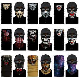 Balaclava Scarf Neck Gaiter Bandana Face Mask Cover for Moto