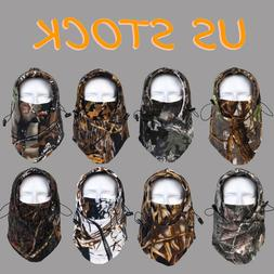 Camo Balaclava Fleece Windproof Cycling Hunting Skiing Face
