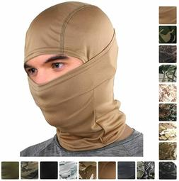 Camouflage Balaclava Full Face Cover Hunting Army Military T