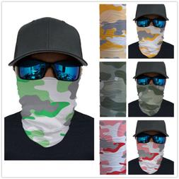Camouflage Balaclava Half Face Scarf Army Hunting Cycling Sp