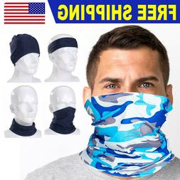 Cooling Neck Gaiter Face Scarf Sun Shield Balaclava Bandana