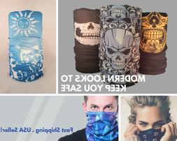 Face Mask Sun Shield Neck Gaiter Balaclava Neckerchief Banda