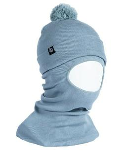 NEFF Facemask Beanie Fog Knit Balaclava with Pom New 2020