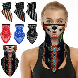 hot face mask biker neck tube scarf
