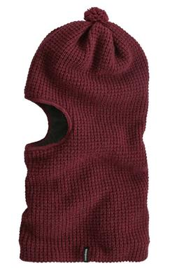 Patagonia Knit Wool Balaclava Oxide Red New!