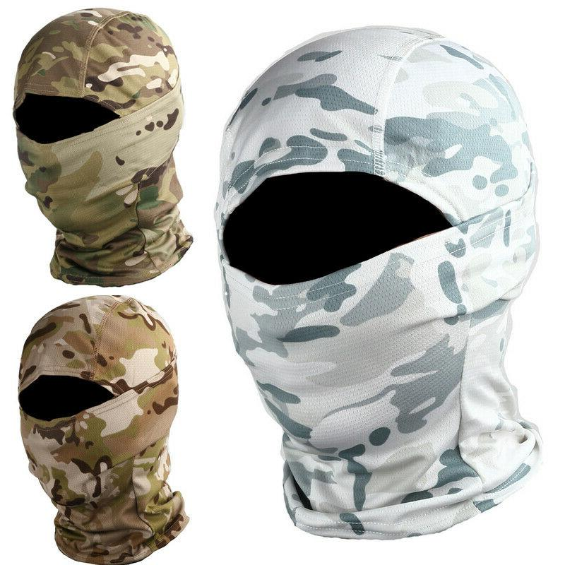 Camo Military Tactical Full Face Cover