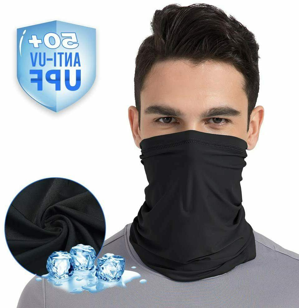 cooling neck gaiter face cover scarf balaclava