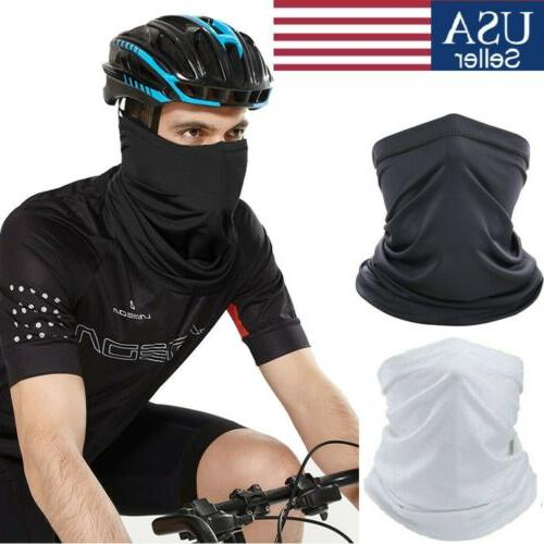cooling summer face mask neck gaiter motorcycle