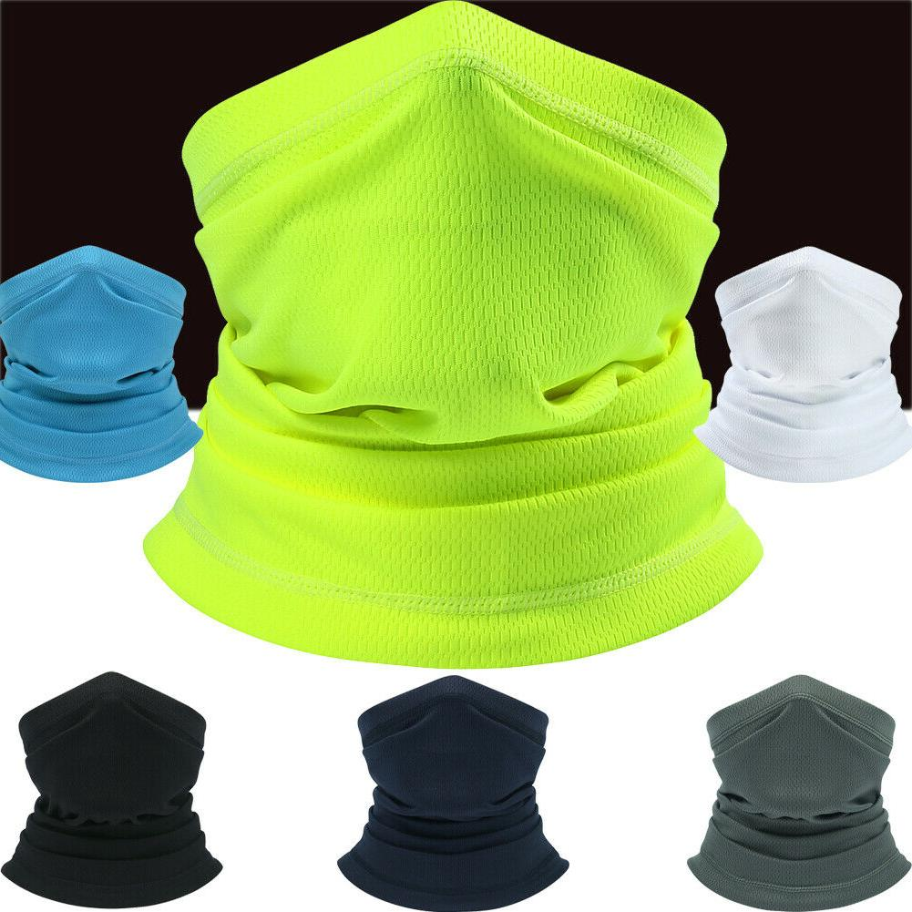 face neck gaiter cover lightweight breathable