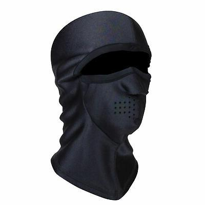 fleece lined moisture wicking performance clava balaclava