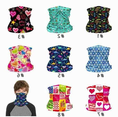 Kids Face Mask Scarf Balaclava FILTER