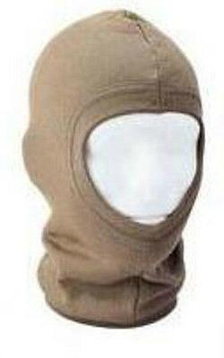 Solid Coyote Brown Face Mask Stocking Cap Balaclava Military