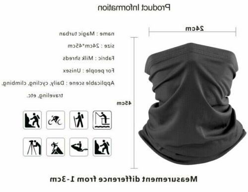 Cooling Summer Neck Shield Balaclava