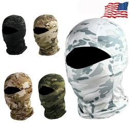 Men Quick Dry Tactical Camouflage Balaclava Hunting Face Mas