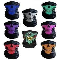 Mouth Cover Face Mask Motorcycle Balaclava Neck Skull
