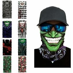 Skull Cycling Motorcycle Head Scarf Neck Warmer Face Mask Sk