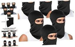 Tatuo 6 Pieces UV Sun Protection Balaclava Full Face Mask Wi