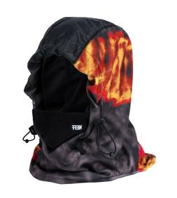 Neff Tech Riding Hood Balaclava Neck Warmer Rasta Campfire B