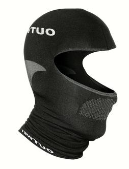 UH1 Balaclava Cycling Cap in Black - Made in Italy by Outwet