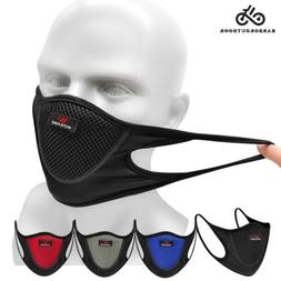 Unisex Mouth-muffle Washable Cycling Protective Half Face Co