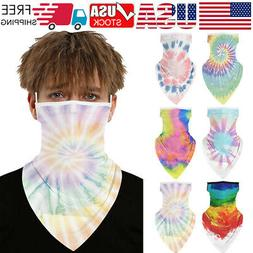 US Silk Cycling Balaclava Triangle Magic Scarf Neck Cover Ha