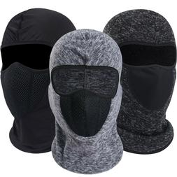 Winter Balaclava Face Mask Cold Weather Warmer Windproof Fle