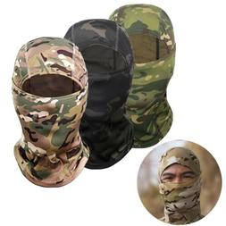 Winter Camouflage Balaclava Full Face Mask Lightweight Cycle
